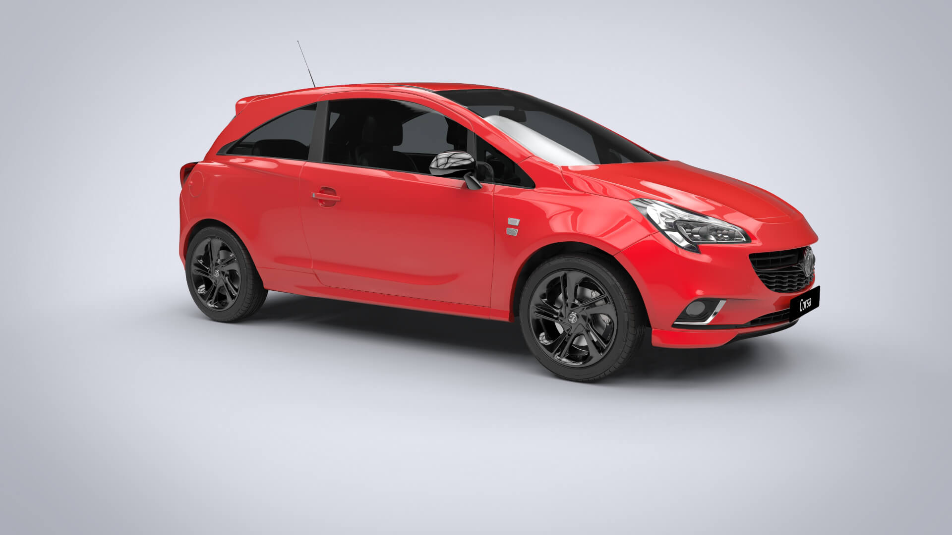 New Corsa Cannock Brindley Vauxhall Small Cars Extra Dark Window Tint Shown For Visualisation Purposes