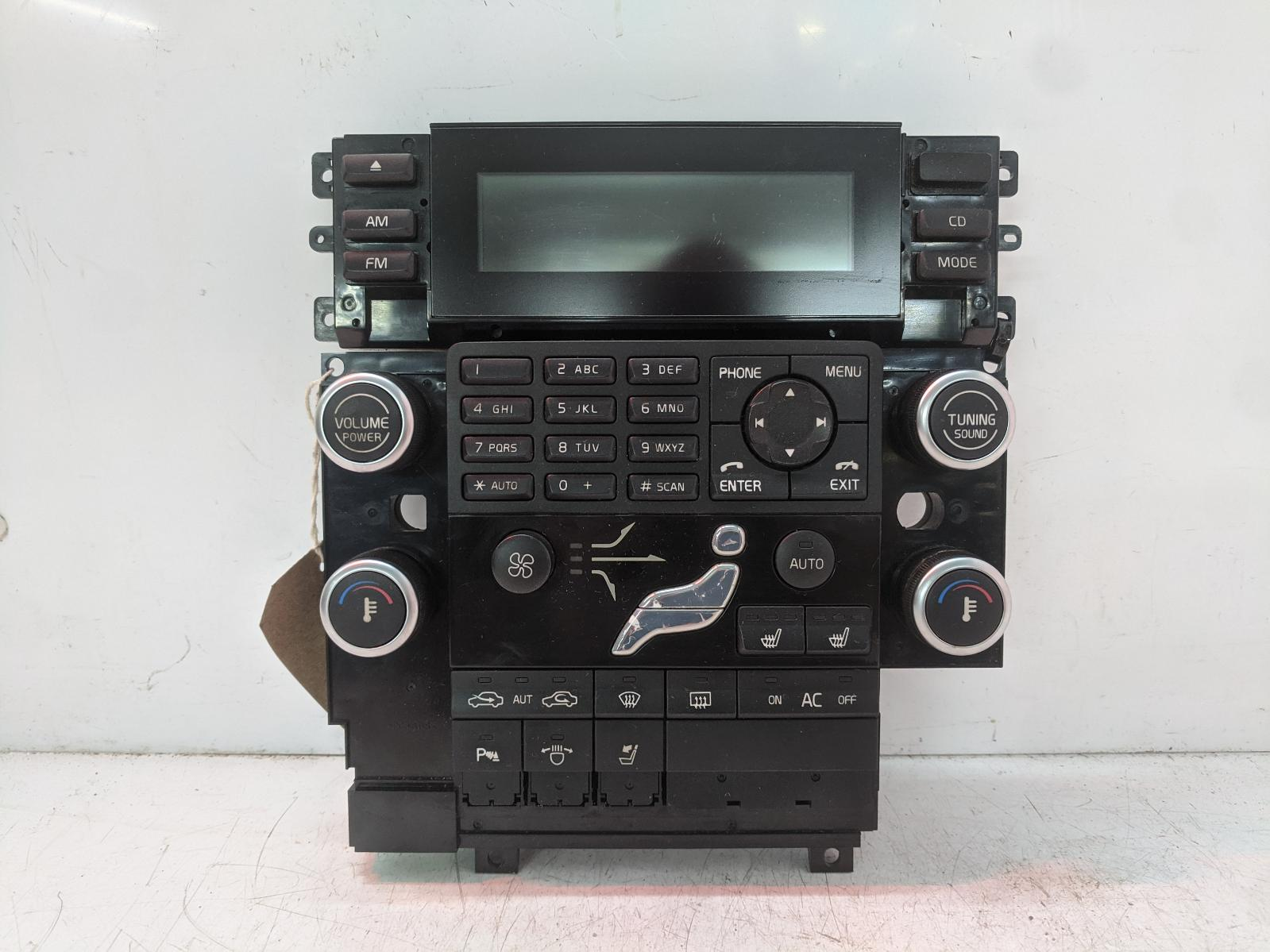 View Auto part Heater/AC Controller VOLVO S80 2009