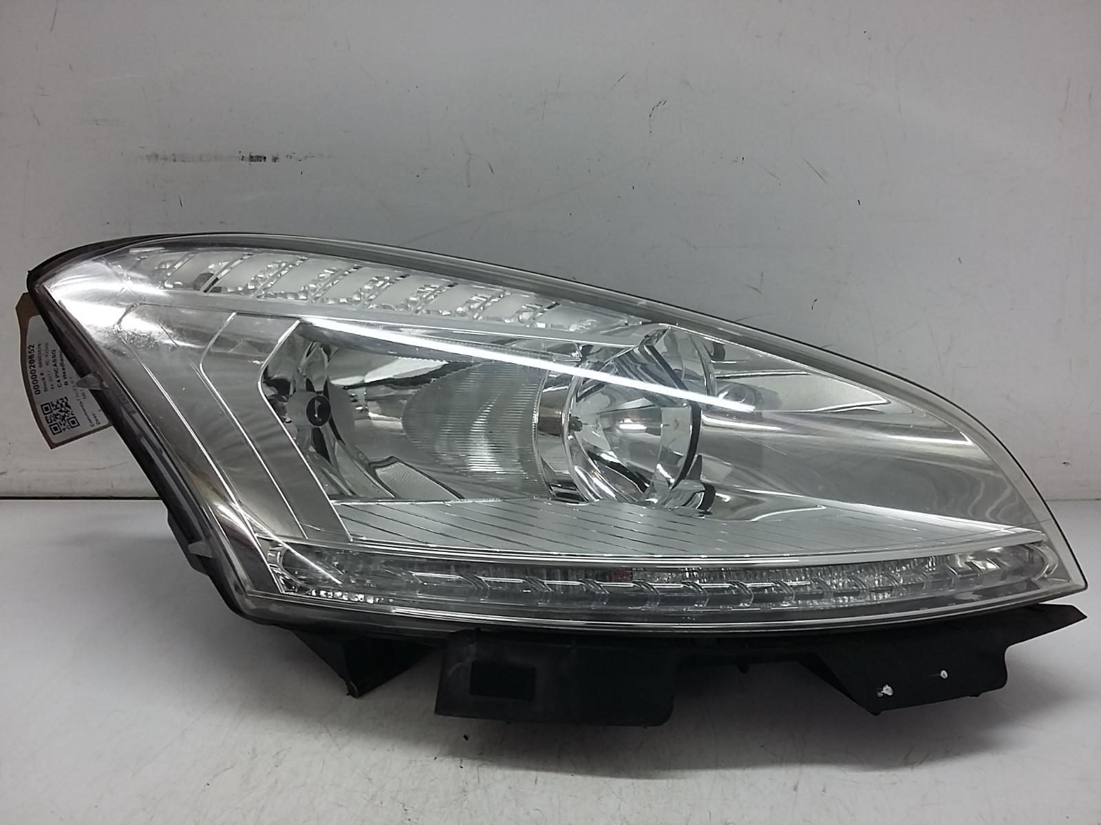 View Auto part R Headlamp CITROEN C4 PICASSO 2011