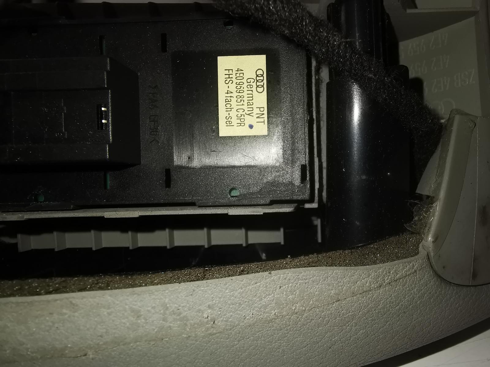 View Auto part Elect. Window Switch AUDI A8 2004