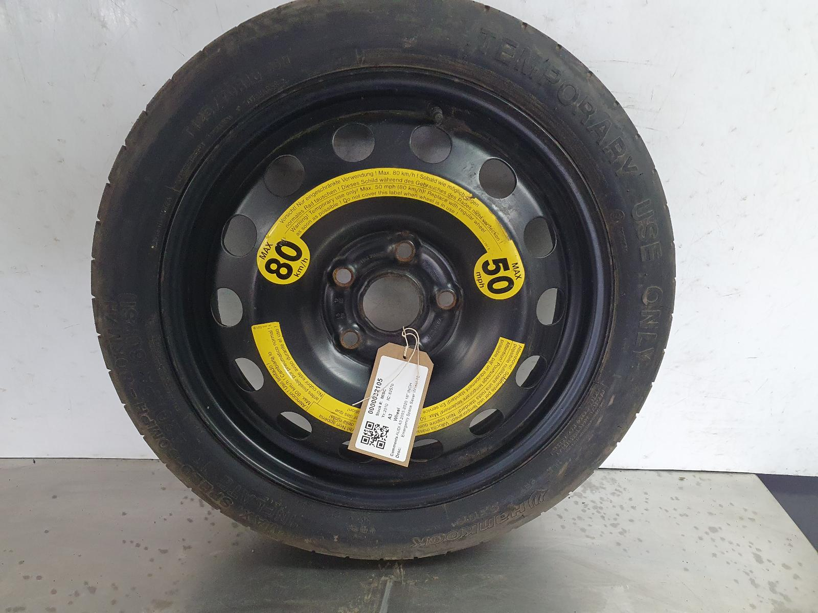 View Auto part Wheel AUDI A3 2010