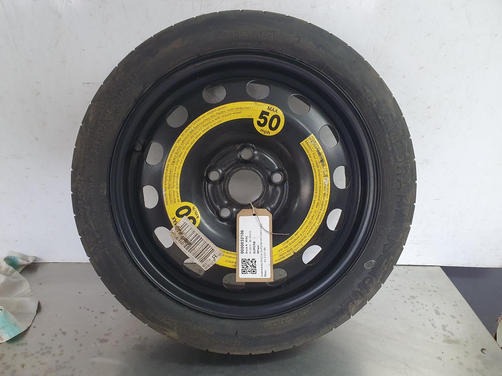 View Auto part Wheel SKODA SUPERB 2010
