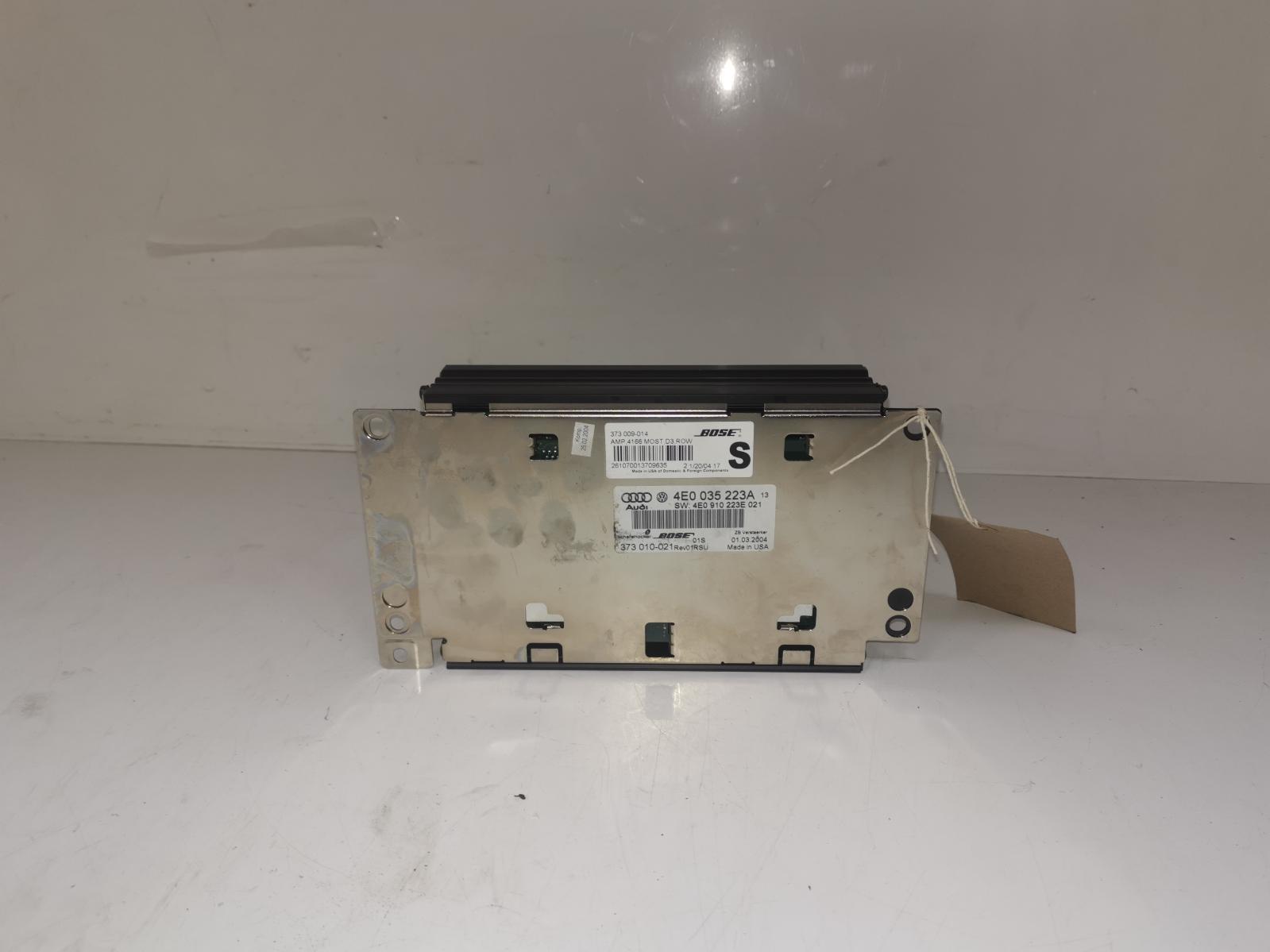 View Auto part Amplifier Unit AUDI A8 2004
