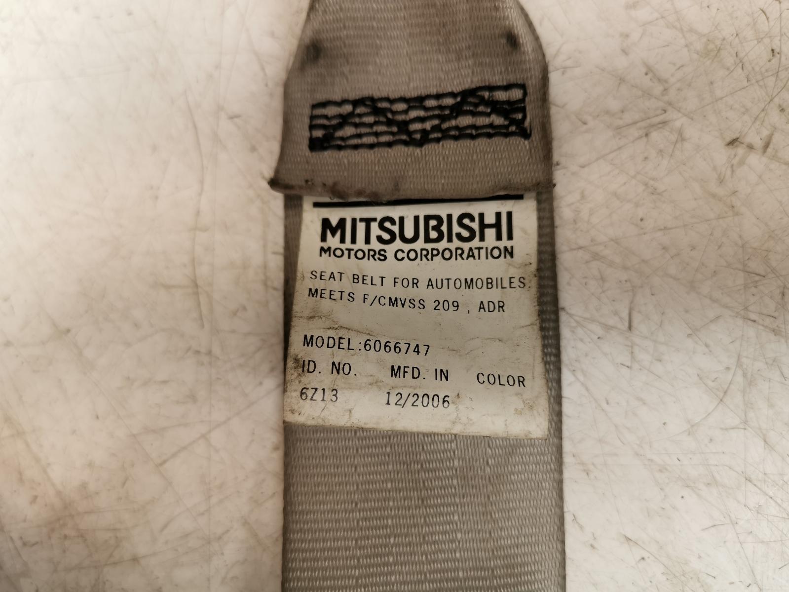 View Auto part Seat Belt MITSUBISHI OUTLANDER 2007