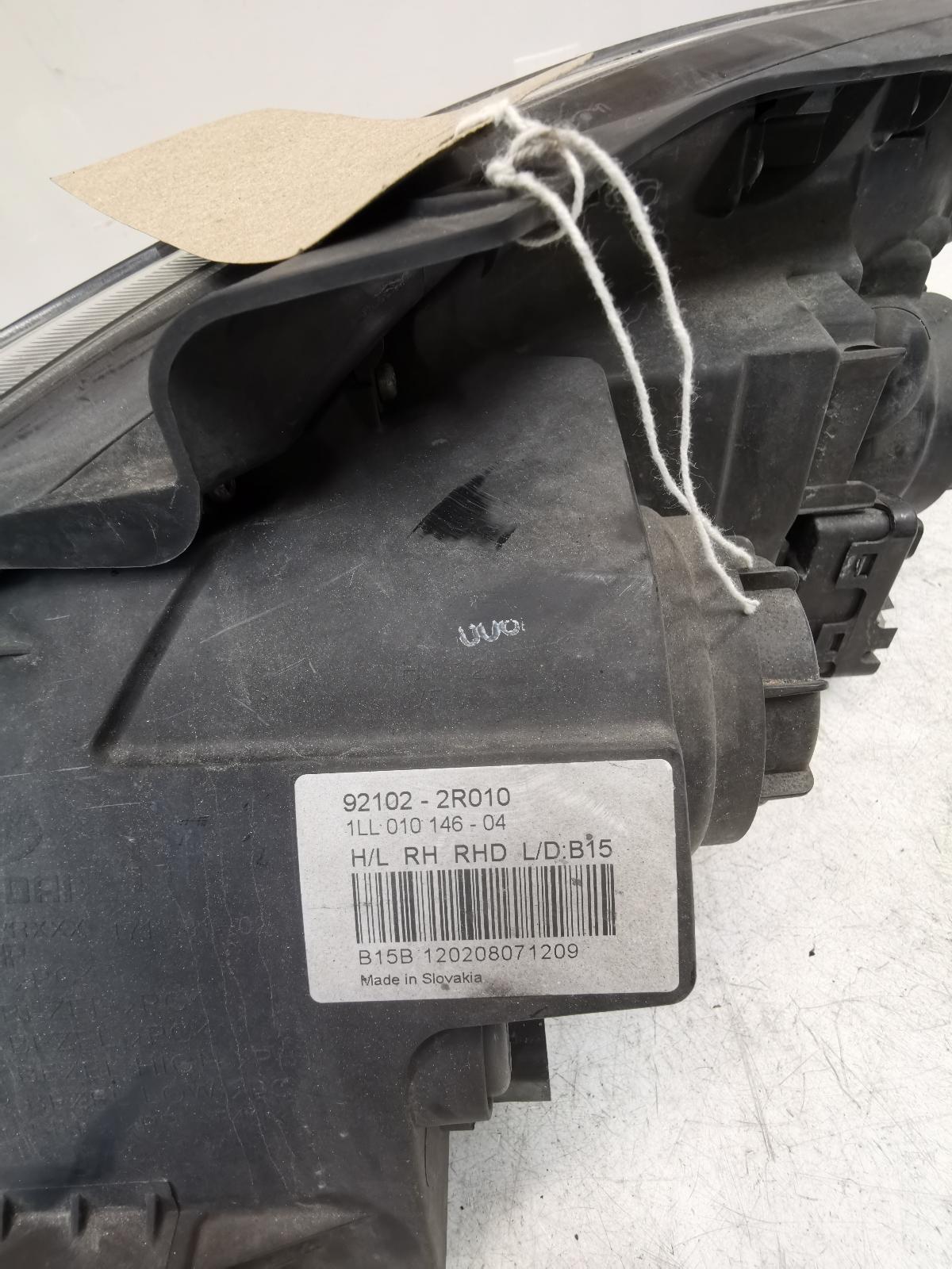 View Auto part L Headlamp HYUNDAI I30 2011