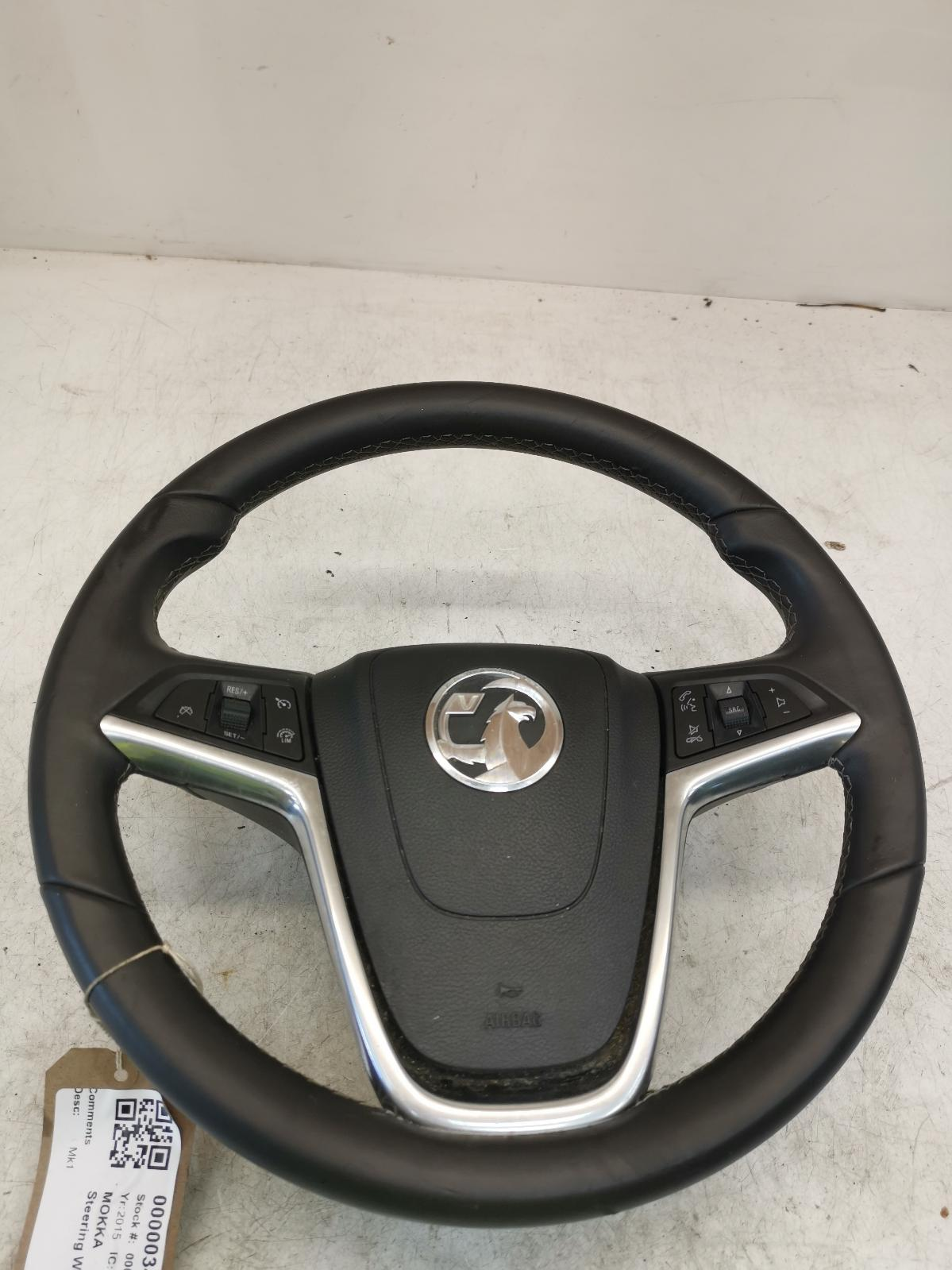 View Auto part Steering Wheel VAUXHALL MOKKA 2015