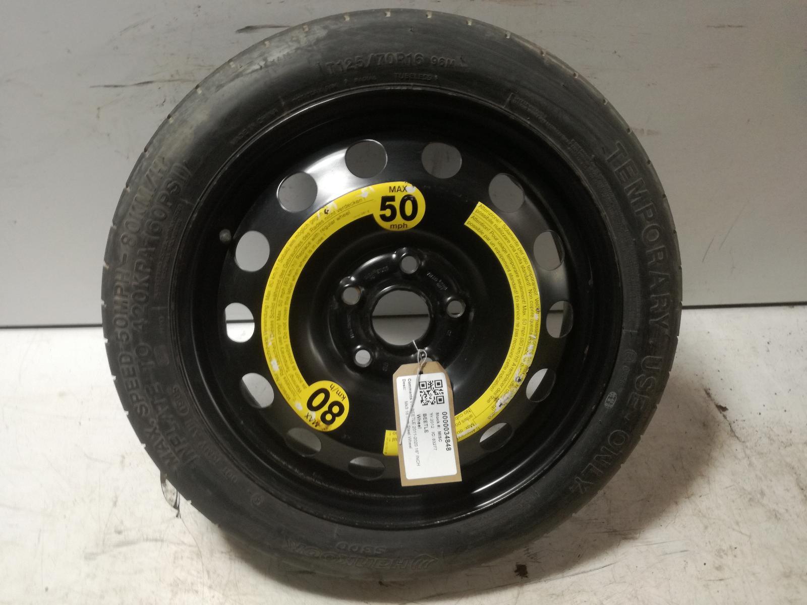 View Auto part Wheel VOLKSWAGEN BEETLE 2012