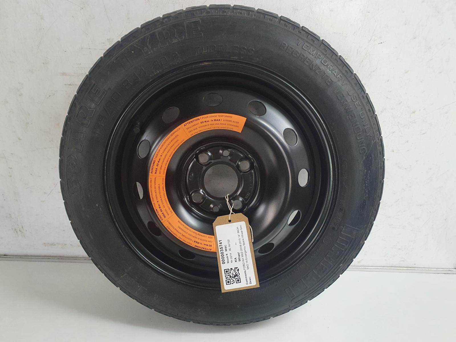 View Auto part Wheel FORD KA 2014