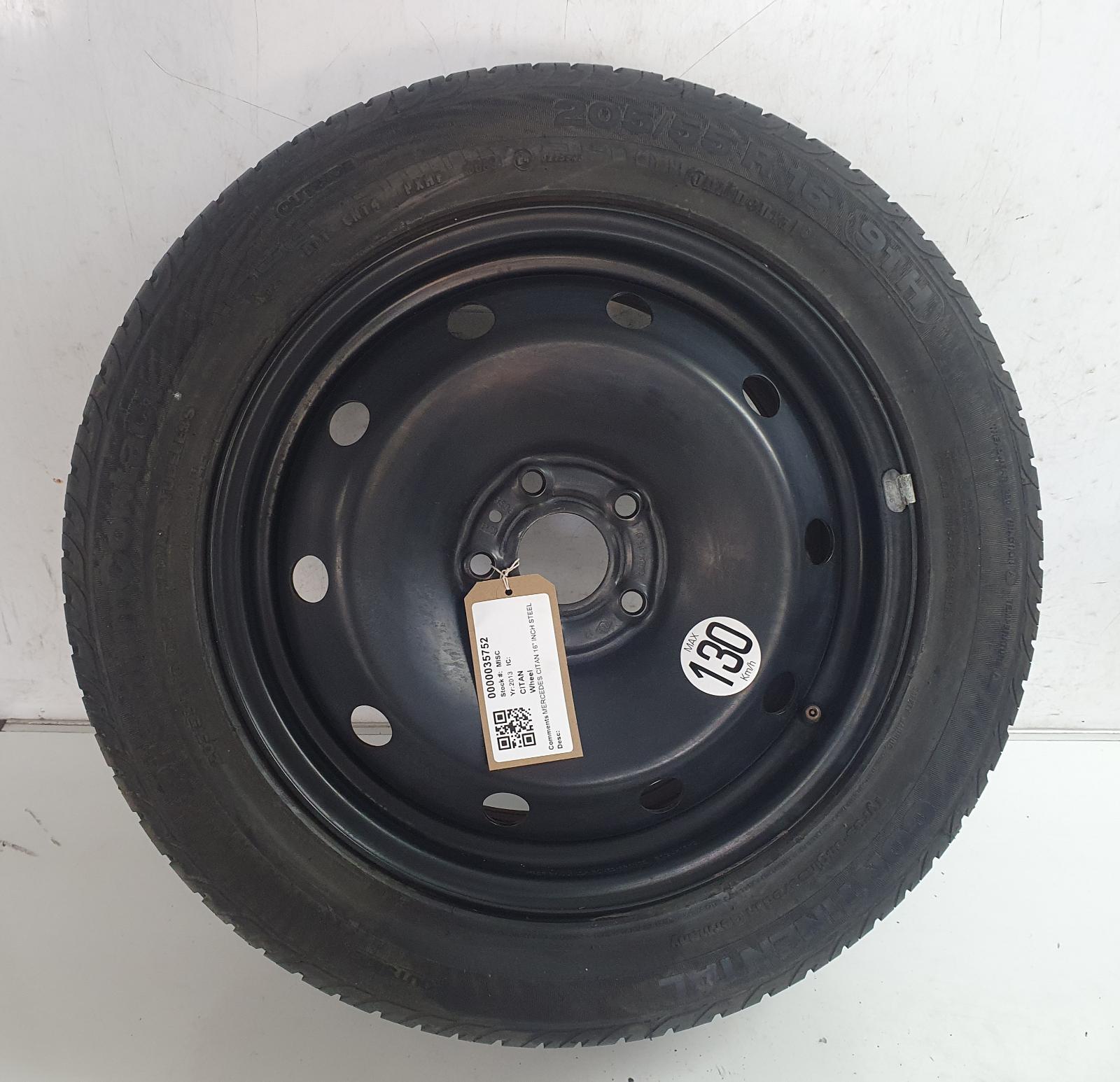 View Auto part Wheel MERCEDES CITAN 2013