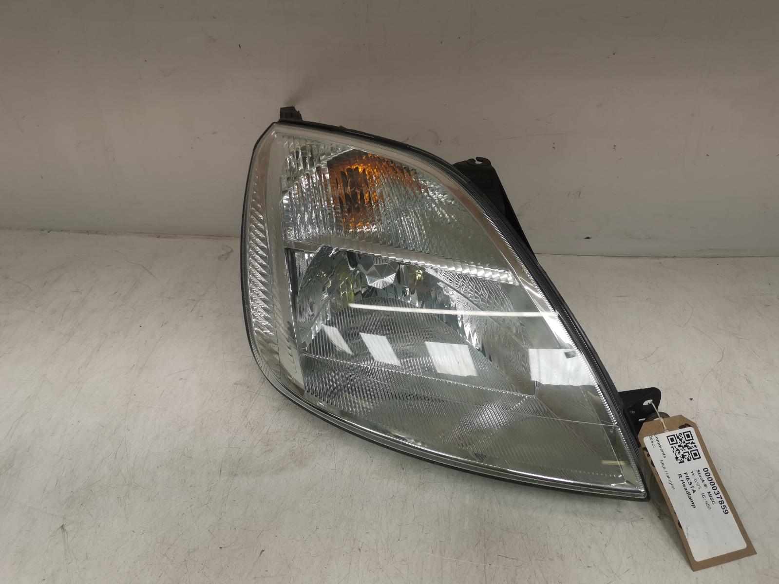 View Auto part R Headlamp FORD FIESTA 2005