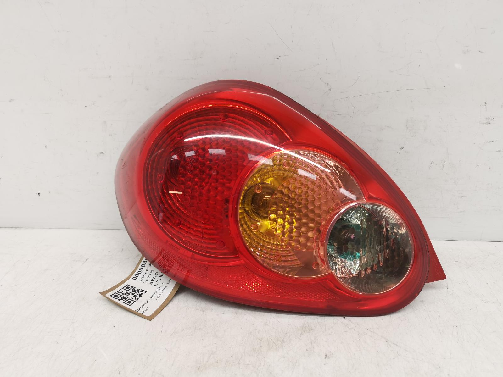 View Auto part L Taillight TOYOTA AYGO 2008