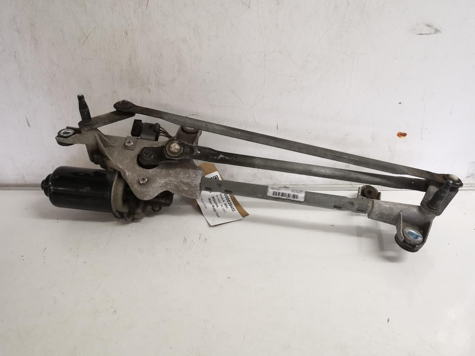 View Auto part Wiper Motor Front VAUXHALL VECTRA 2008
