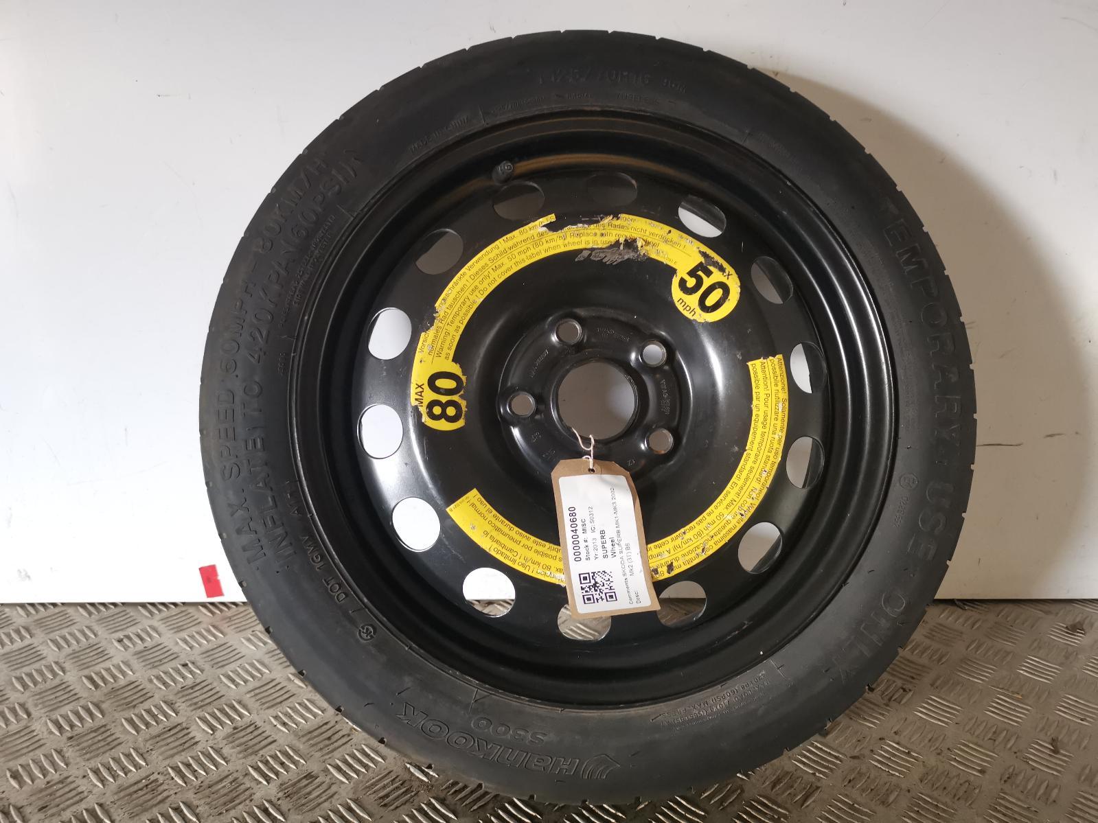 View Auto part Wheel SKODA SUPERB 2013