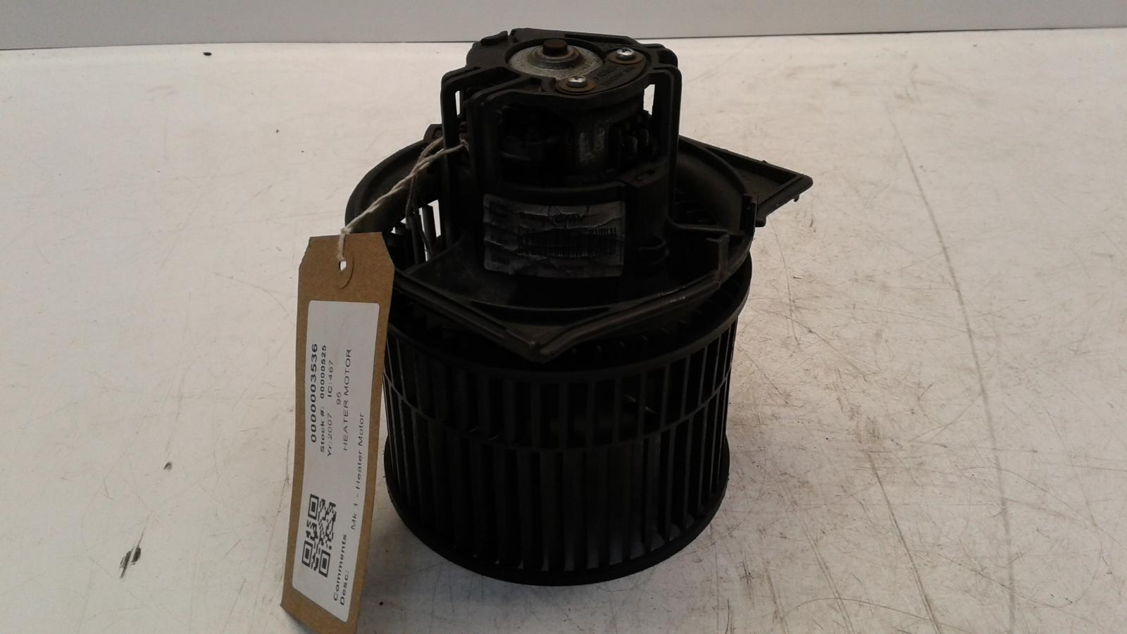 View Auto part Heater Motor/Assembly SAAB 95 2007