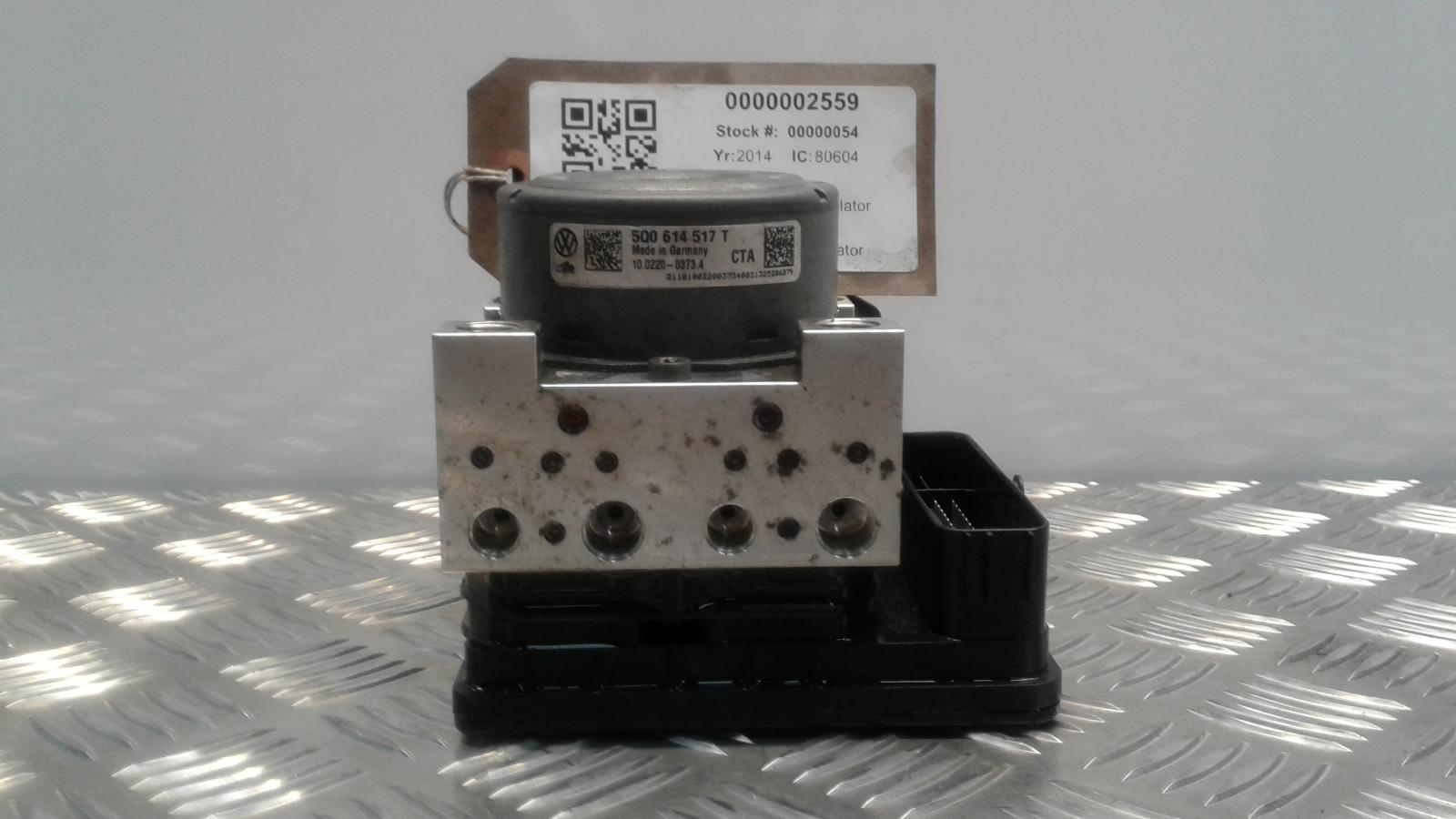 View Auto part ABS Pump/Modulator AUDI A3 2014