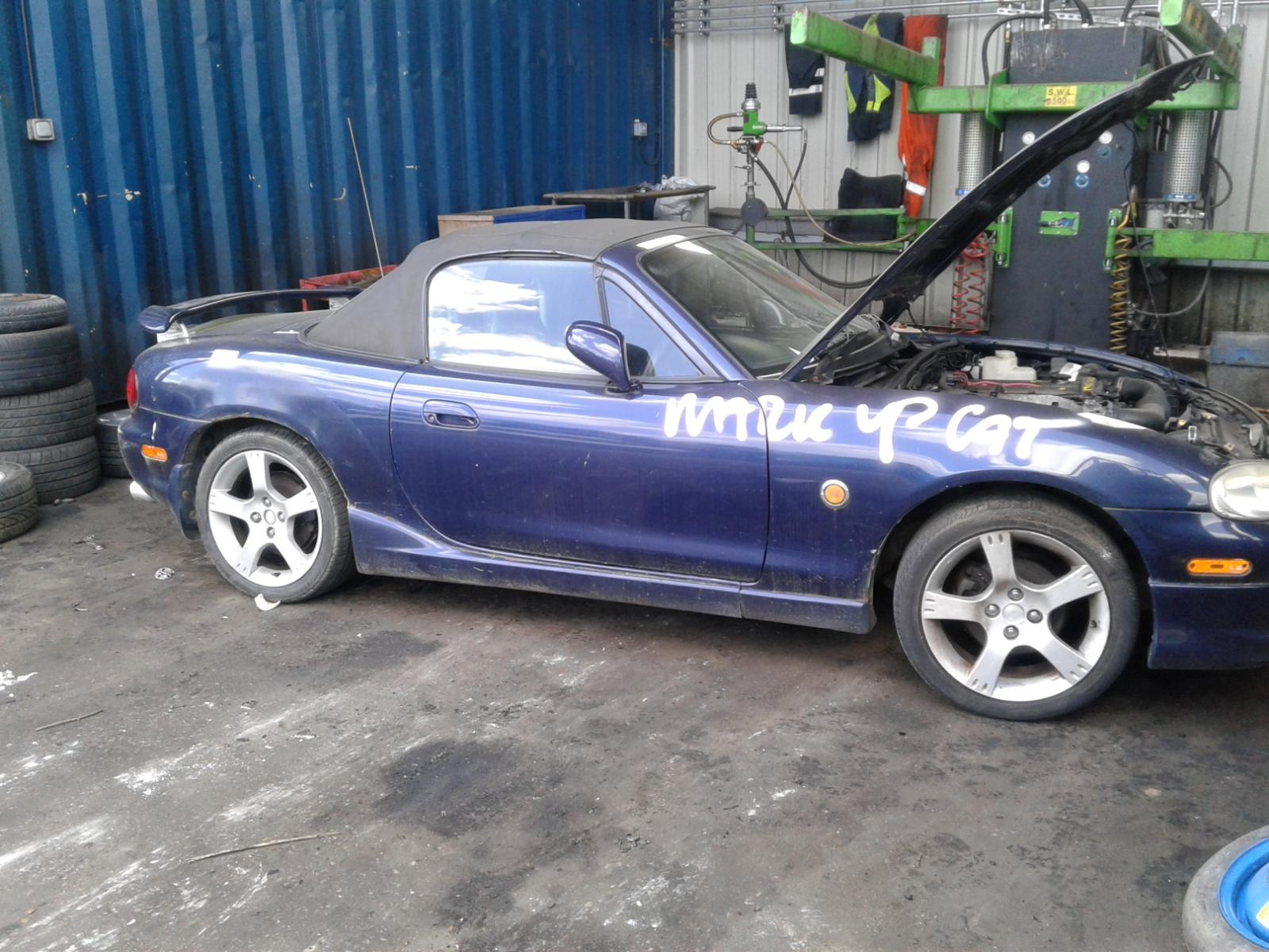 Image for a MAZDA MX5 2002 2 Door Unknown