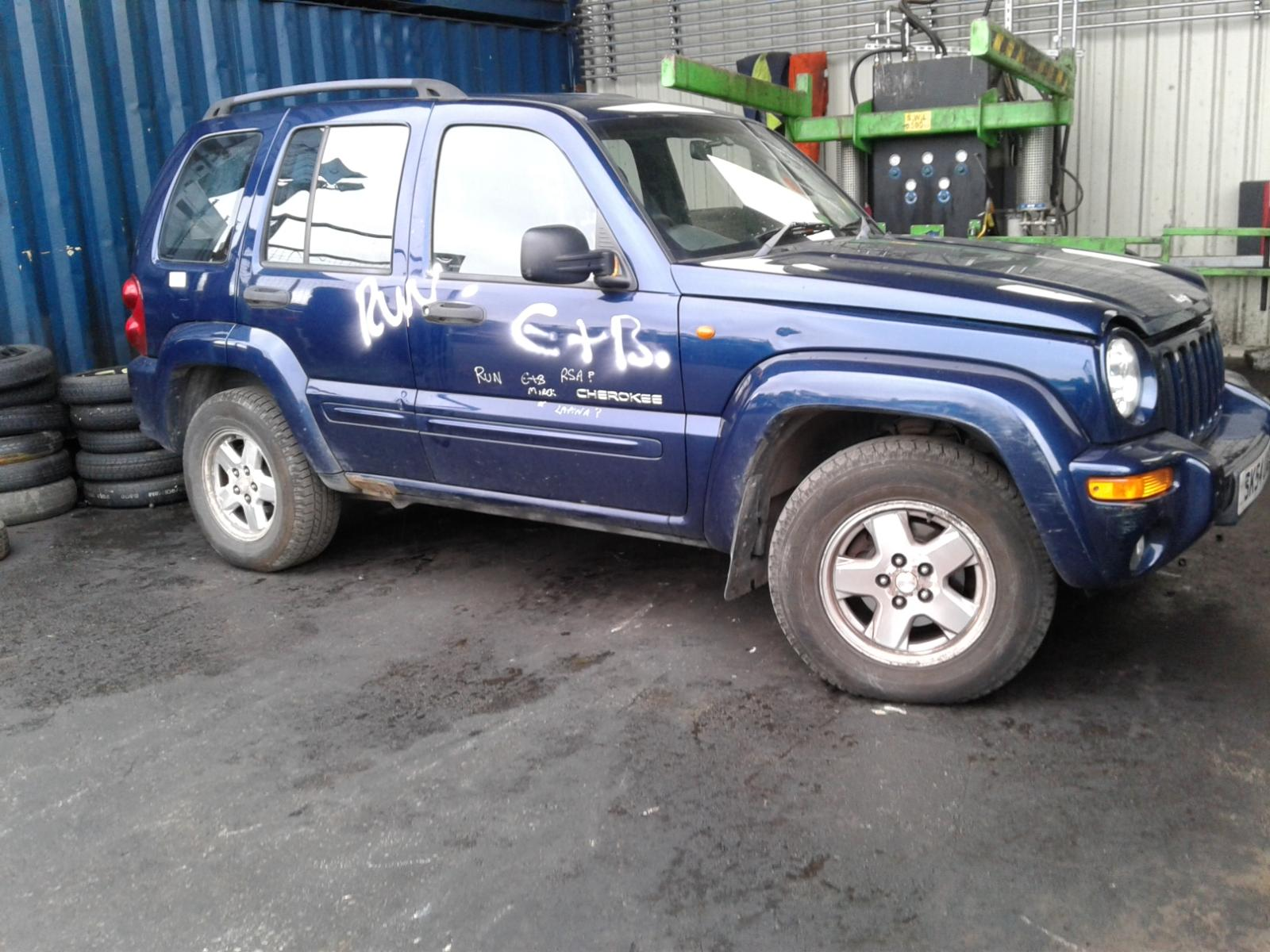 Image for a JEEP CHEROKEE 2004 5 Door Estate