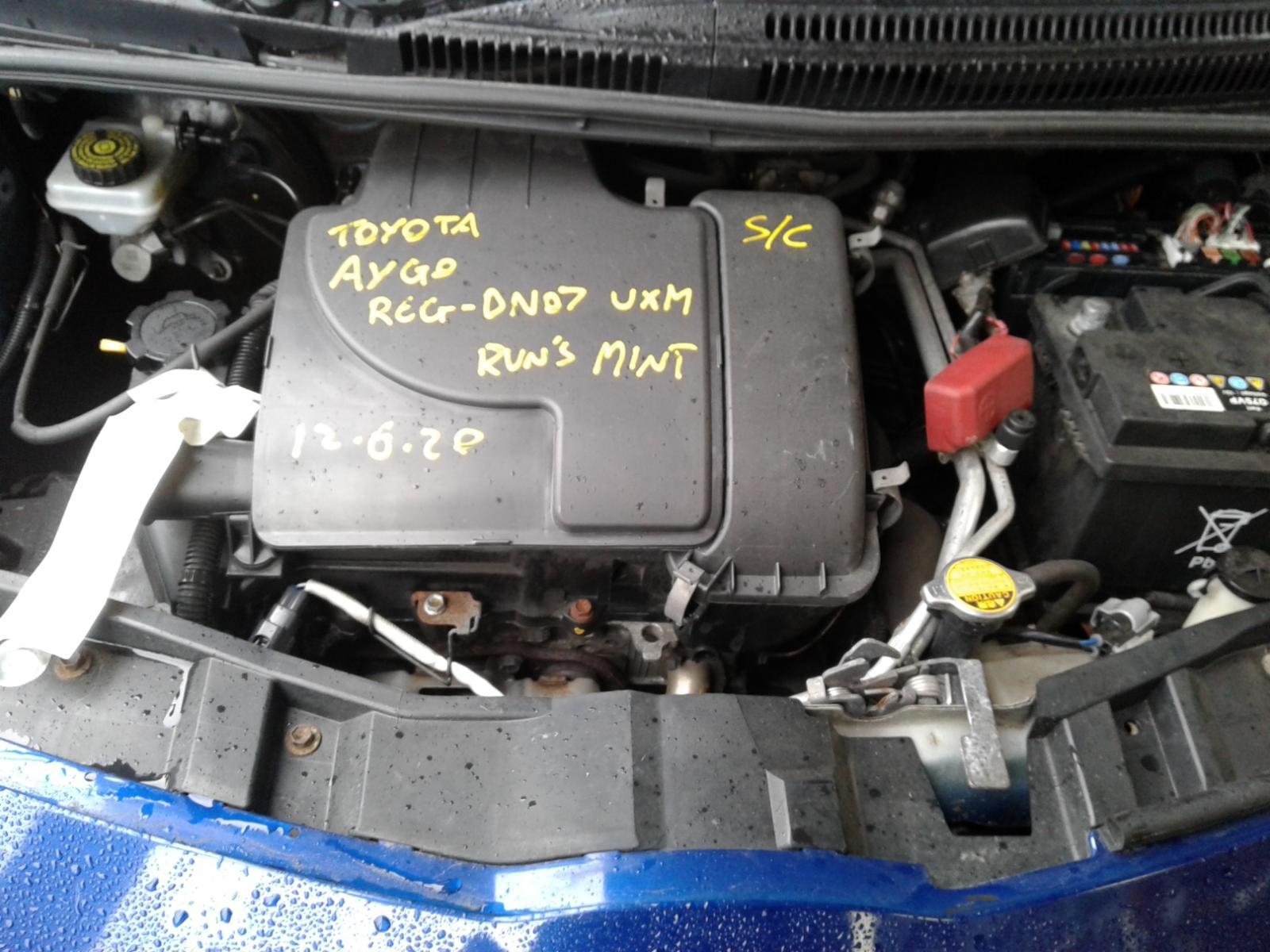 View Auto part TOYOTA AYGO 2007 5 Door Hatchback