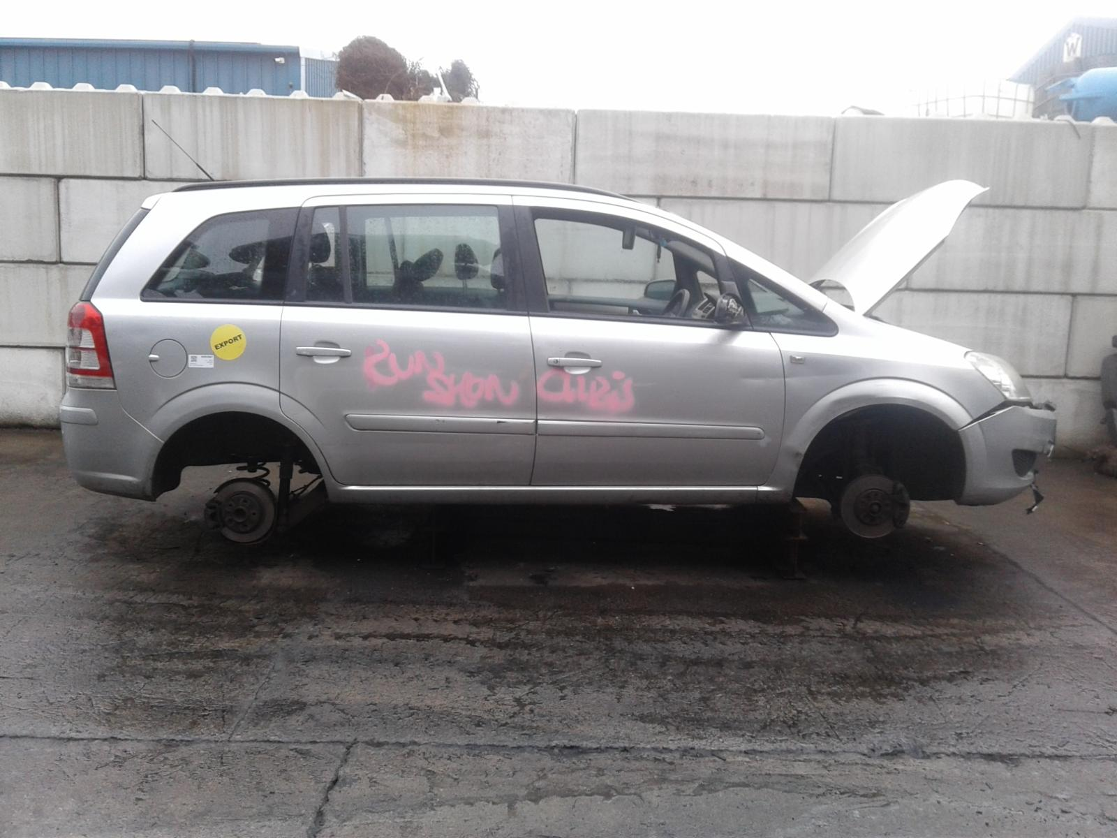 Image for a VAUXHALL ZAFIRA 2009 5 Door BODYSTYLE.MPV