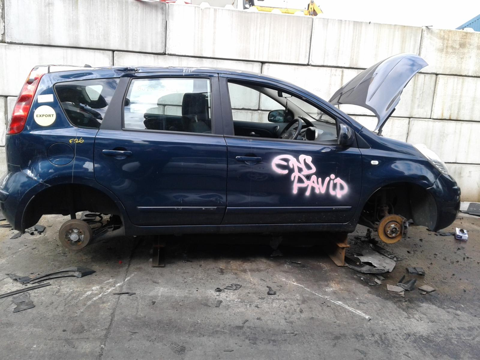 Image for a NISSAN NOTE 2008 5 Door BODYSTYLE.MPV