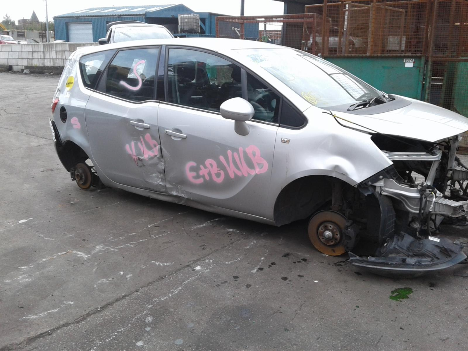 Image for a VAUXHALL MERIVA 2014 5 Door BODYSTYLE.MPV