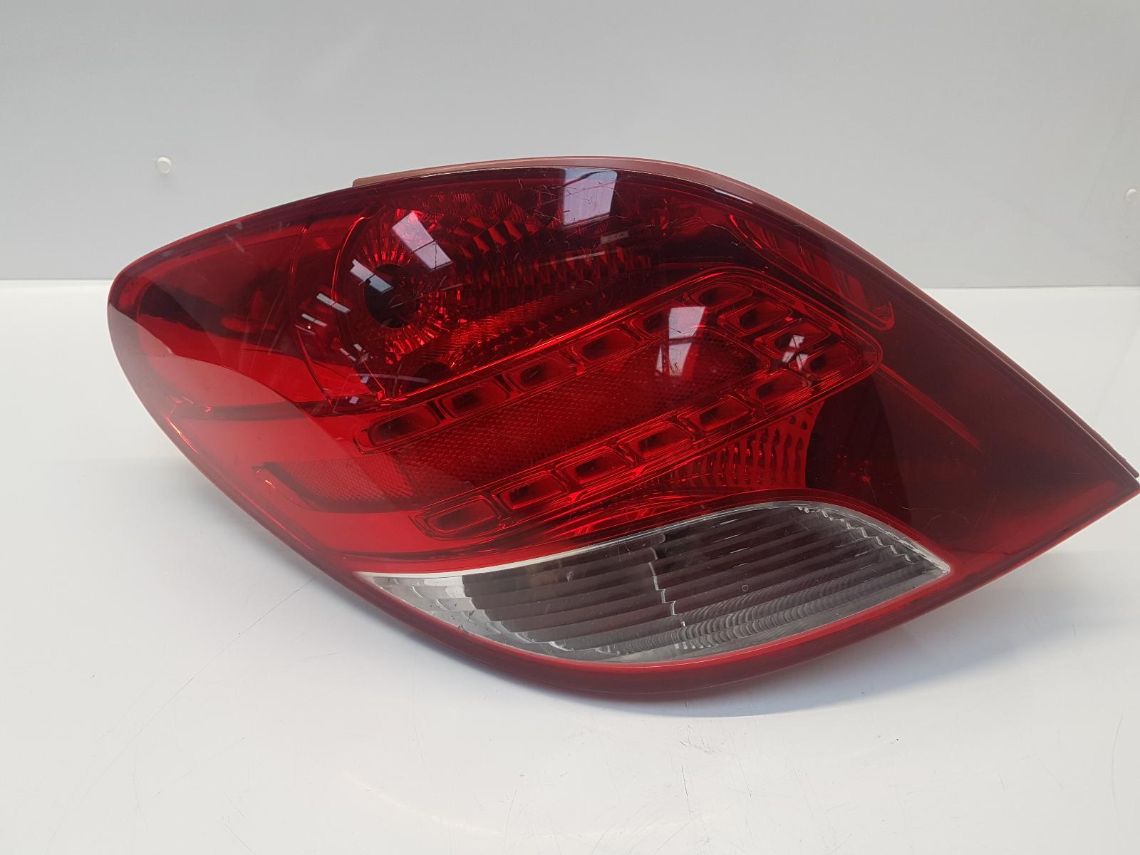 View Auto part L Taillight PEUGEOT 207 2010