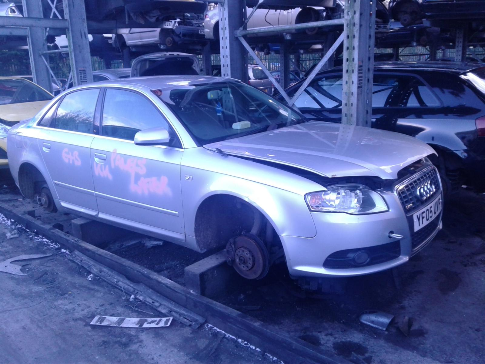 Image for a AUDI A4 2005 4 Door Saloon