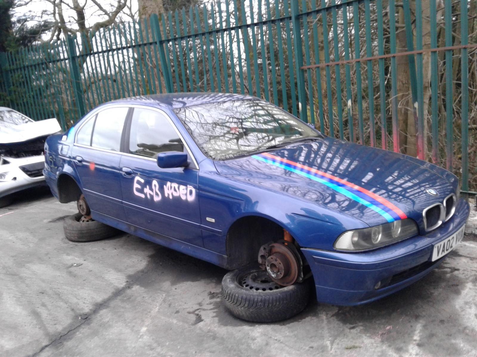 Image for a BMW 5 SERIES 2002 4 Door Saloon