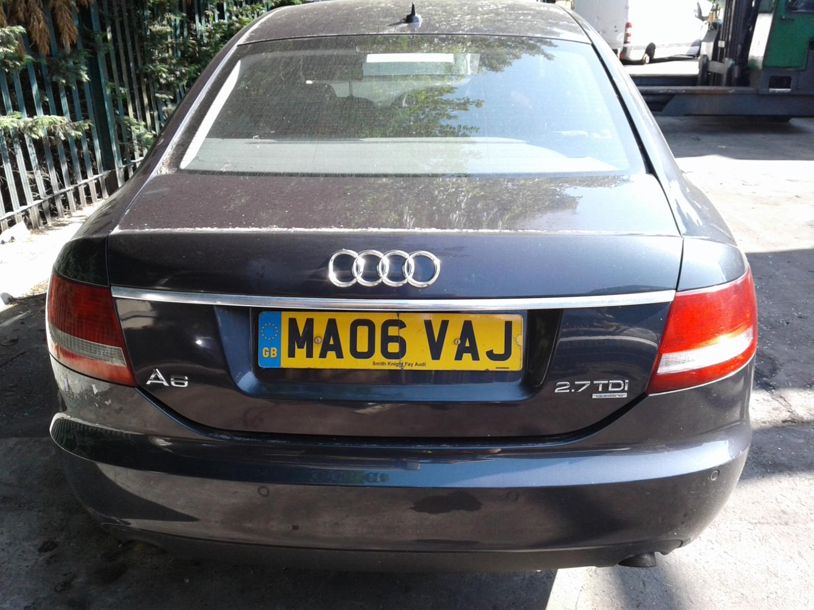 View Auto part AUDI A6 2006 4 Door Saloon