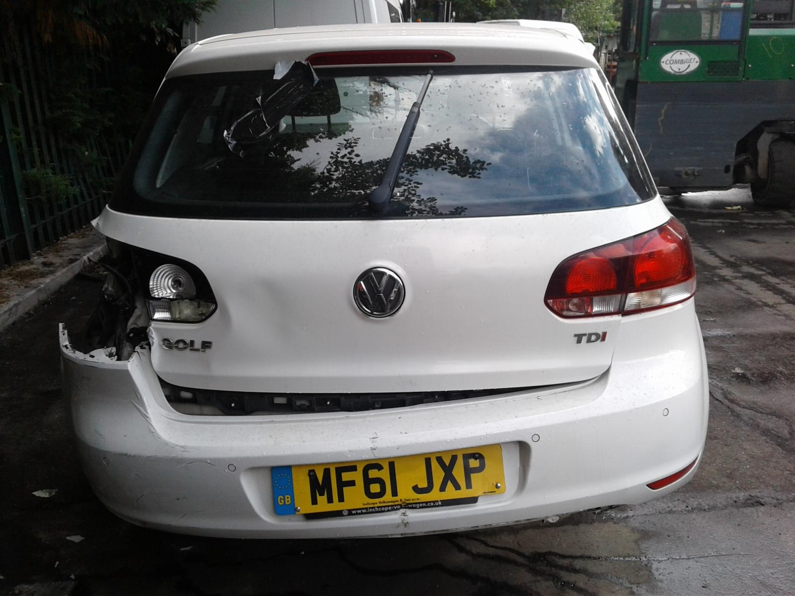 View Auto part VOLKSWAGEN GOLF 2011 5 Door Hatchback