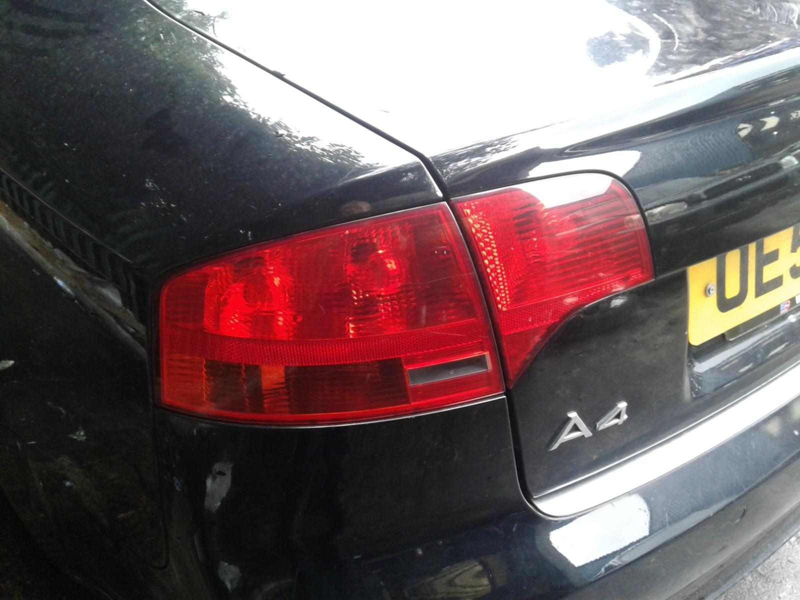 View Auto part AUDI A4 2005 4 Door Saloon