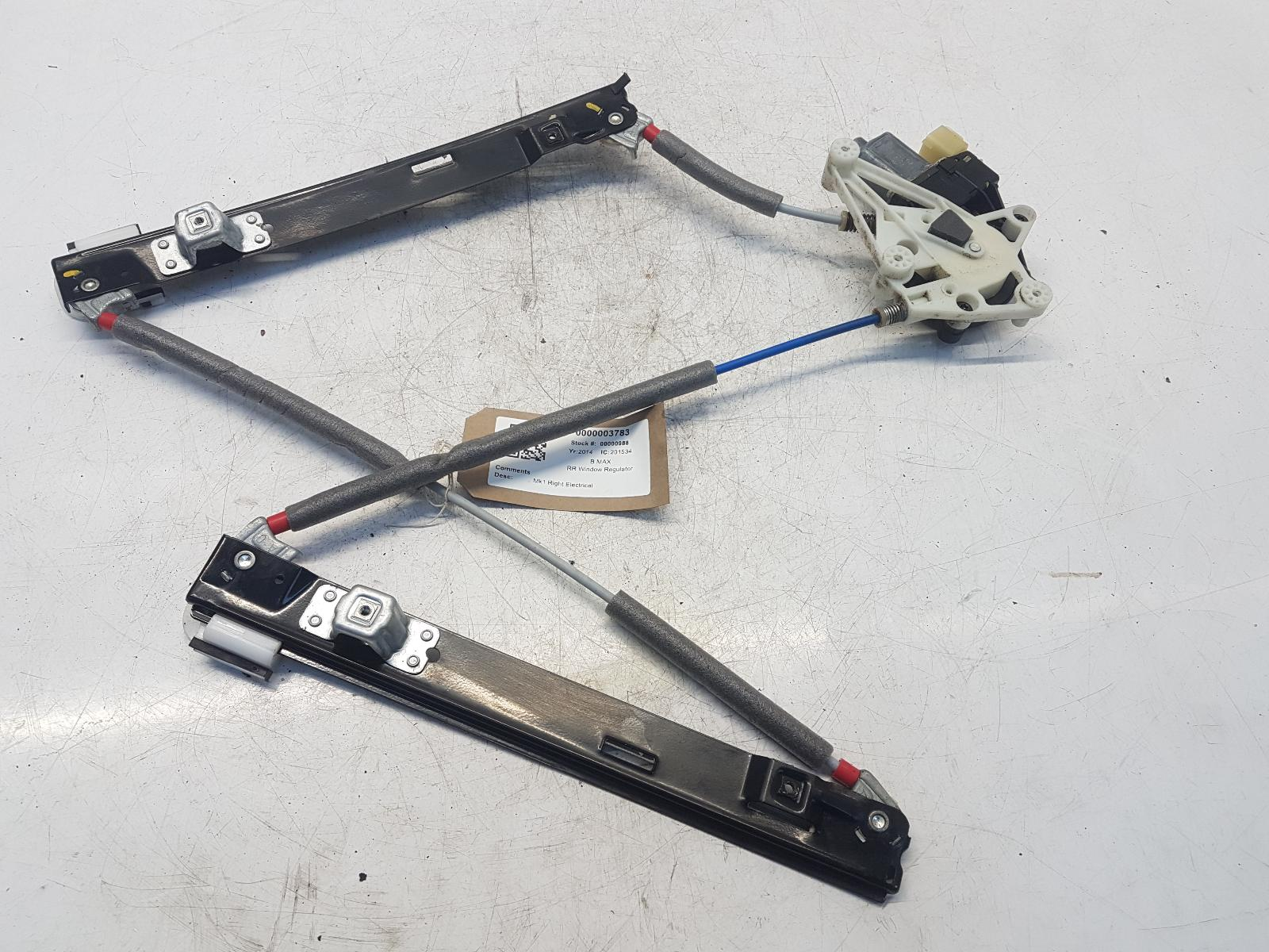 View Auto part RR Window Regulator FORD B MAX 2014