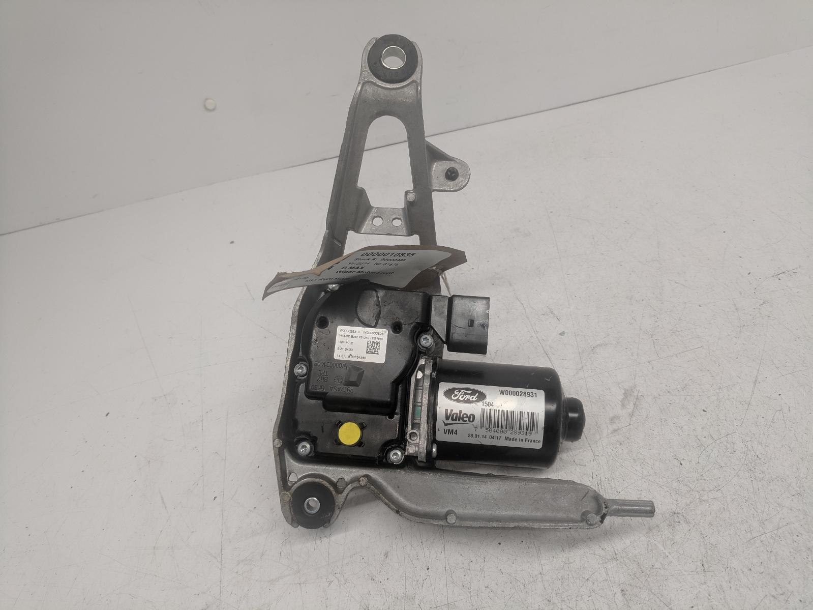 View Auto part Wiper Motor Front FORD B MAX 2014