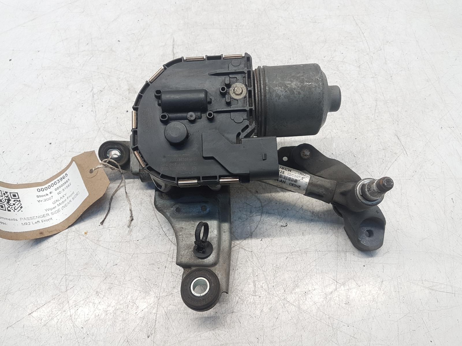 View Auto part Wiper Motor Front FORD GALAXY 2007