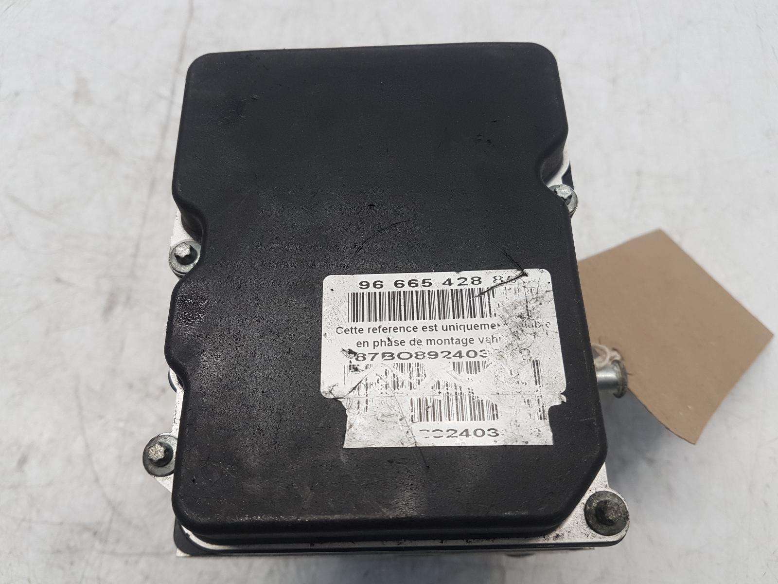 View Auto part ABS Pump/Modulator CITROEN C5 2009