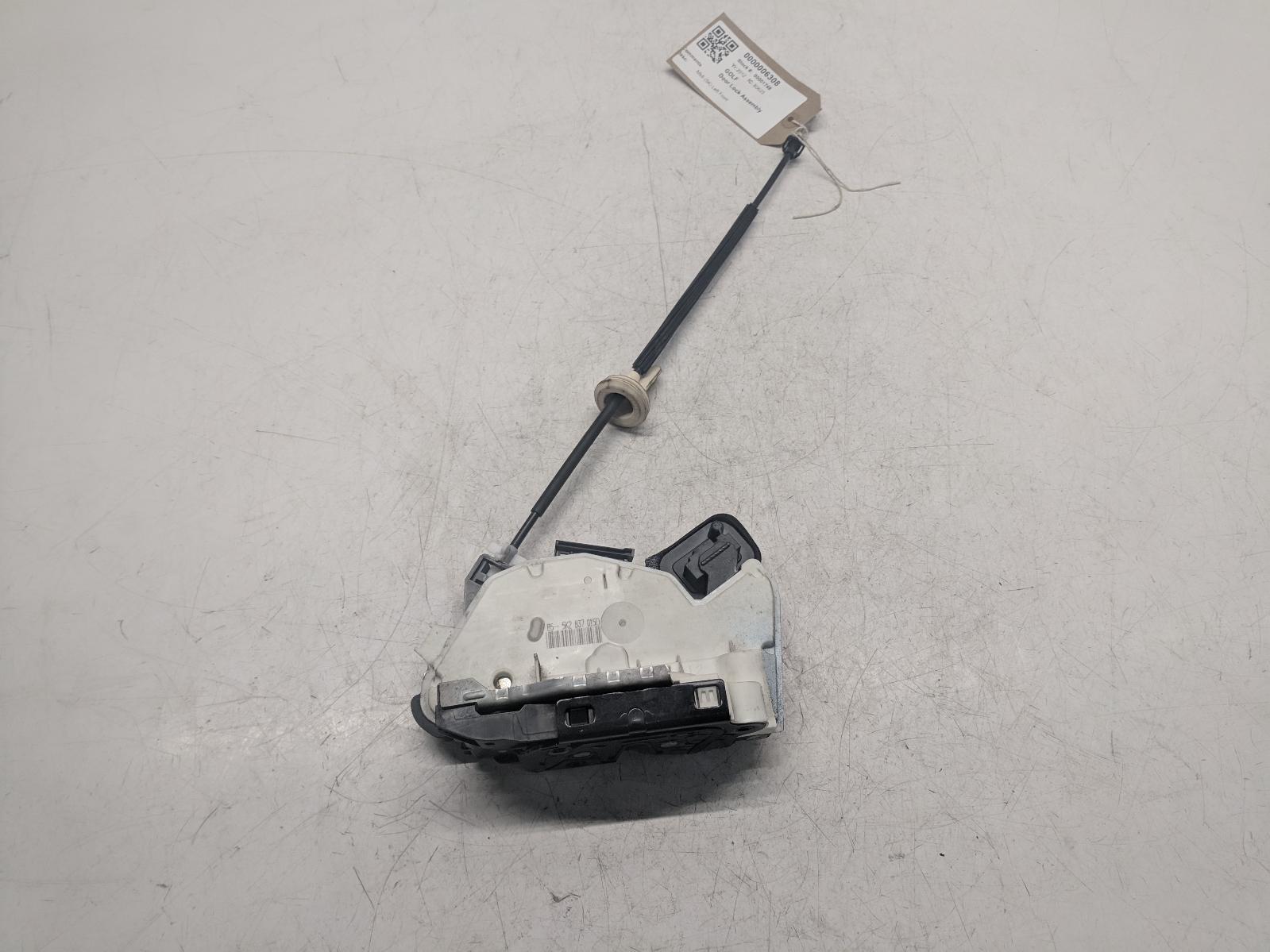View Auto part Door Lock Assembly VOLKSWAGEN GOLF 2012