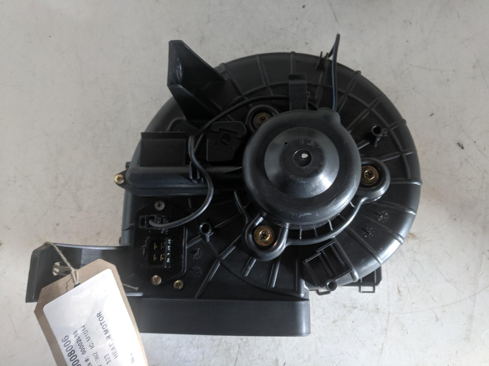 View Auto part Heater Motor/Assembly MAZDA 323 1992