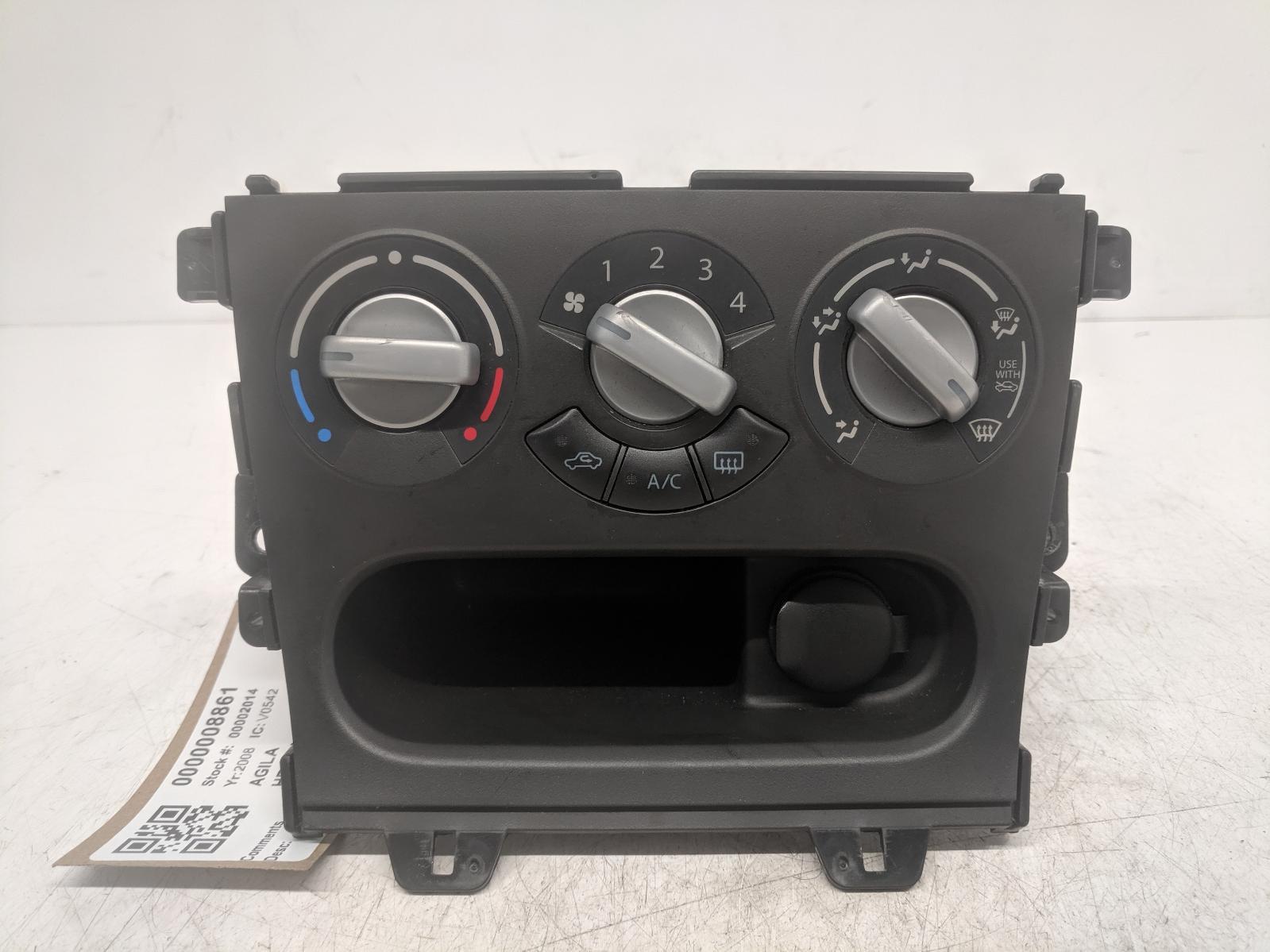 View Auto part Heater/AC Controller VAUXHALL AGILA 2008