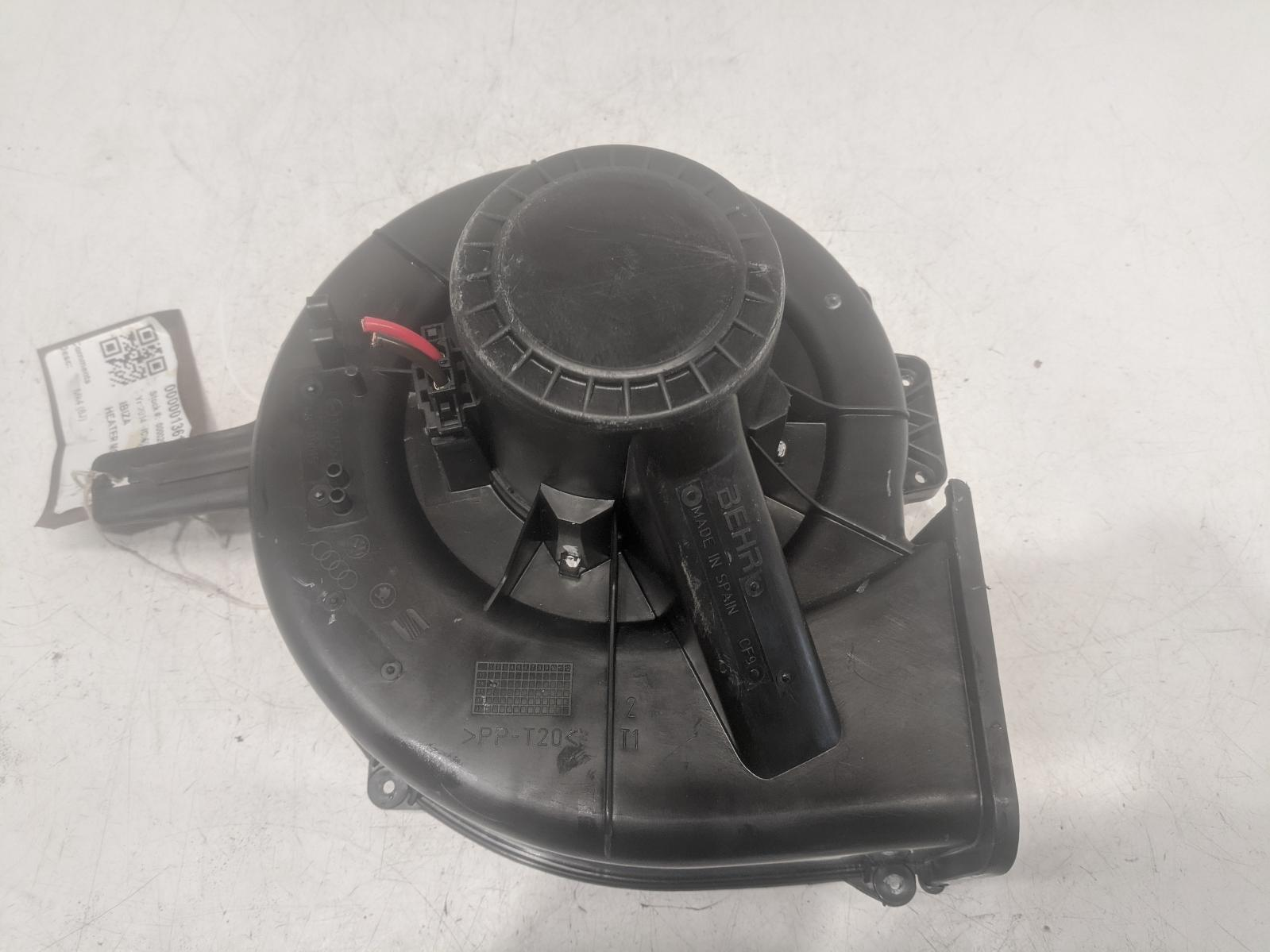 SEAT IBIZA 2014 HEATER BLOWER MOTOR