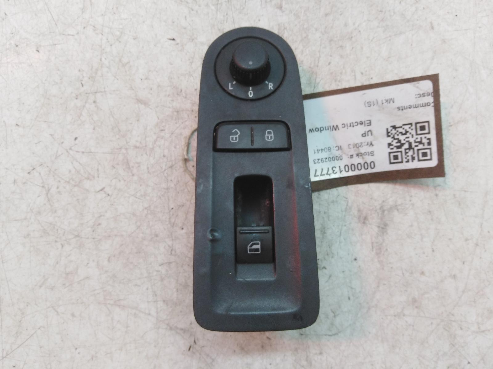 View Auto part Elect. Window Switch VOLKSWAGEN UP 2013