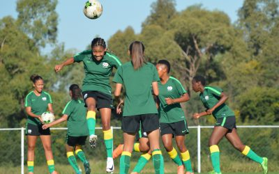 Bantwana get straight to work as they prepare for round two against Zambia