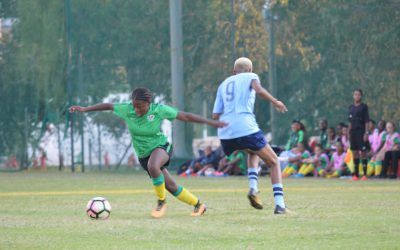Bantwana give Wits University a football lesson