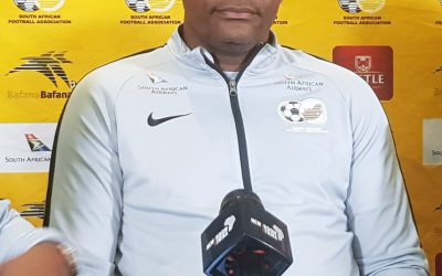Ntseki announces Bafana Bafana squad to face Sao Tome in 2021 AFCON qualifiers