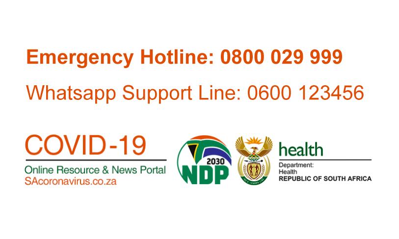Link to SA Government Covid-19 Portal