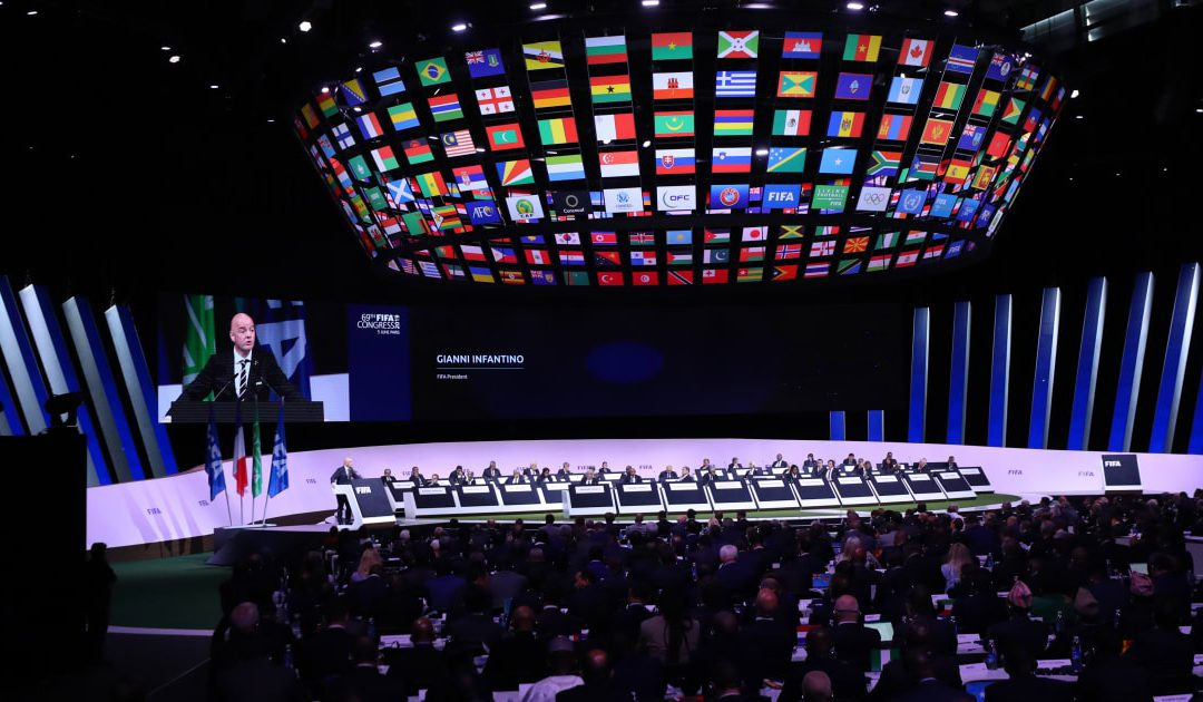 Football needs to show unity and solidarity – Infantino