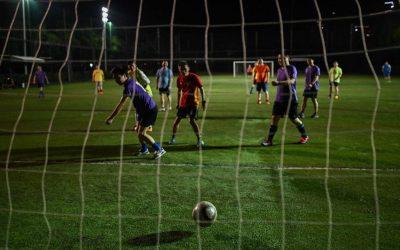 Football makes gleeful return to coronavirus-scarred Wuhan