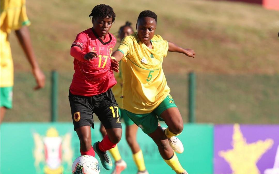 Banyana open title defense with a good win over Angola