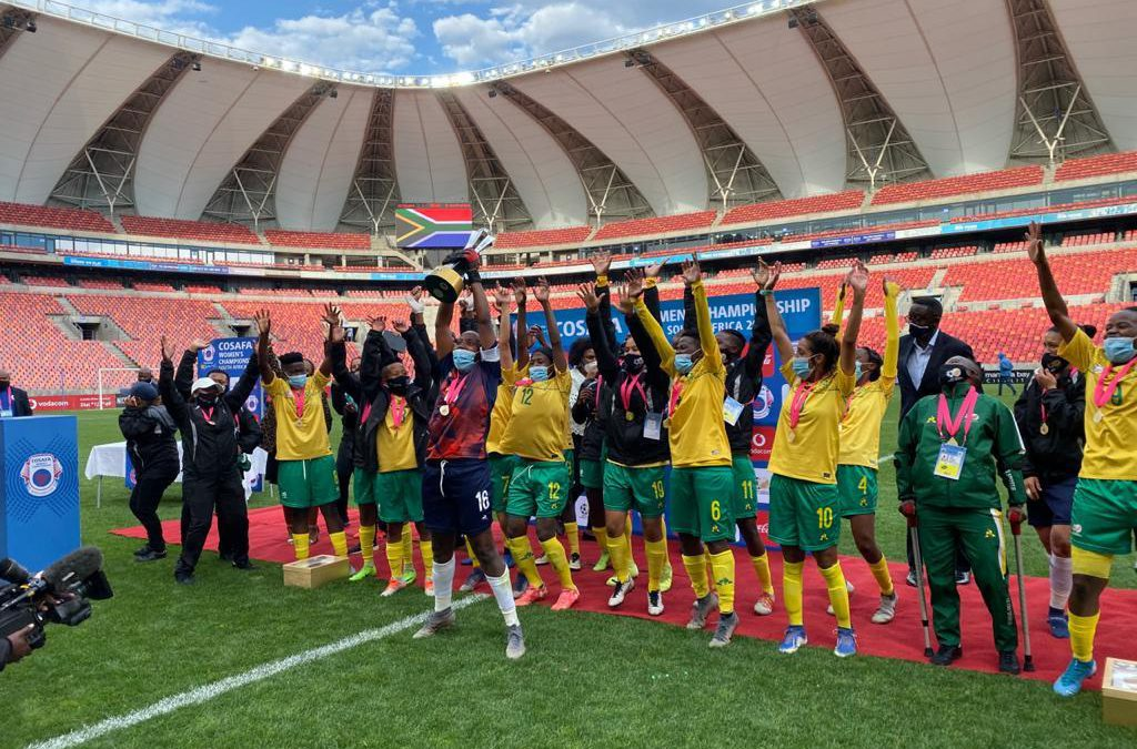 Banyana win COSAFA Cup title for fourth consecutive year