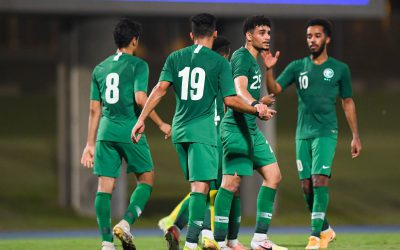Late goal secures Saudis win over South Africa