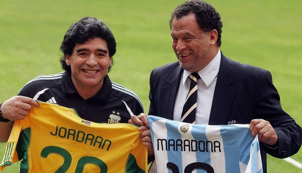 SAFA President pays moving eulogy to late icon Maradona